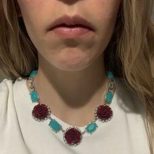 Lia Sophia Red Rose necklace